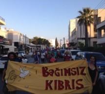 Bağımsız Kıbrıs İçin Yürüdük..