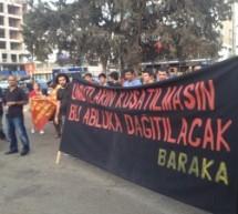 LEFKOŞA KOBANE İÇİN YÜRÜDÜ..