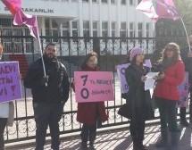 """BARAKA KÜLTÜR MERKEZİ HÜKÜMETE SESLENDİ:  """"KADIN CİNAYETLERİ POLİTİKTİR"""""""