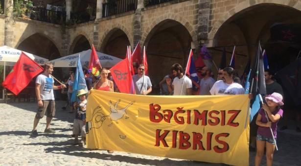 """""""BAĞIMSIZ KIBRIS"""" EYLEMİ İÇİN TÜM ÖRGÜTLERE AÇIK ÇAĞRI"""