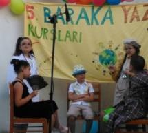 Beşinci Baraka Yaz Kursları Şenlikle Sonlandı