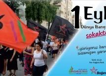 1 Eylül'de Sokaktayız!!