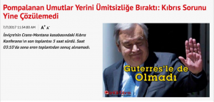 Guterres Geldi de örgütlenmenin zamanı geçiyor bile
