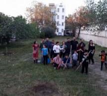 Baraka ve Bağımsızlık Yolu Umut Bahçesi'nin bakımını yaptı