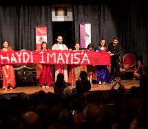 Baraka Tiyatro Ekibi, Tiyatroseverleri 1 Mayıs'ta Alanlara Çağırdı