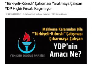 """YDP'nin Yükselişi ve """"Kıbrıslı-Türkiyeli"""" Ayrımcılığı"""
