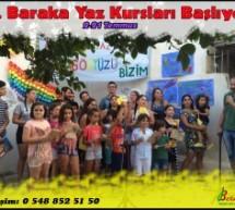 6. Baraka Yaz Kursları Başlıyor