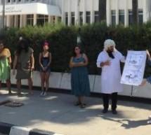 Baraka ve Bağımsızlık Yolu Başbakanlık Önünde Eylem Yaptı