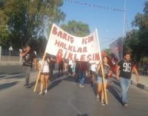 """Sokak Yine Boş Bırakılmadı: """"BARIŞ SOKAKTA, BARIŞ HEMEN ŞİMDİ"""""""