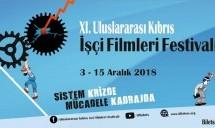 11. Uluslararası Kıbrıs İşçi Filmleri Festivali Pazartesi Başlıyor
