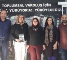 """""""Nenemin Deyişiynan (Kıbrıs Kültürü Üzerine Yazılar)"""" Kitabı KTÖS'e Takdim Edildi"""