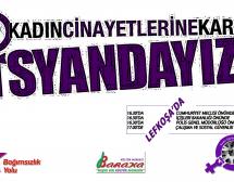 Lefkoşa'da Örgütlerden Ortak 25 Kasım Eylemi