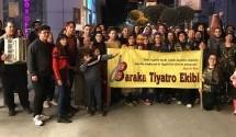 Baraka Kültür Merkezi, Dünya Tiyatro Günü'nü Sokak Tiyatrosu ile Kutladı