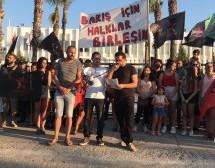 Devrimciler 1 Eylül Dünya Barış Günü'ne Sahip Çıkmaya Devam Ediyor
