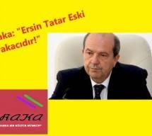 Ersin Tatar Eski Barakacıdır!