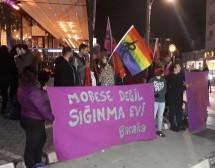 Baraka Kültür Merkezi 25 Kasım'da Kadına Şiddete Karşı Sokaktaydı