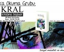 Baraka Okuma-Tartışma Grubu Kral İsimli Romanı Okuyor