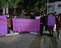 Kadına Şiddete Karşı Dereboyu'nda Yürüyüş Gerçekleştirildi