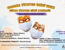 Baraka'dan Dünya Tiyatro Günü Etkinliği