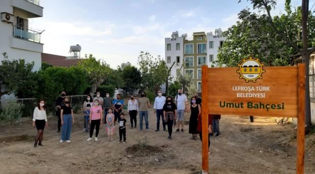 Baraka Kültür Merkezi, Bağımsızlık Yolu Partisi ve Lefkoşa Belediyesi İşbirliğiyle Umut Bahçesi'ne Yeni Fidanlar Dikildi