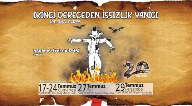 Baraka'dan Parklarda Tiyatro Gösterimleri