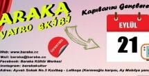 Baraka'dan 15-25 Yaş Arası Gençlere Ücretsiz Tiyatro Eğitim Çalışmaları